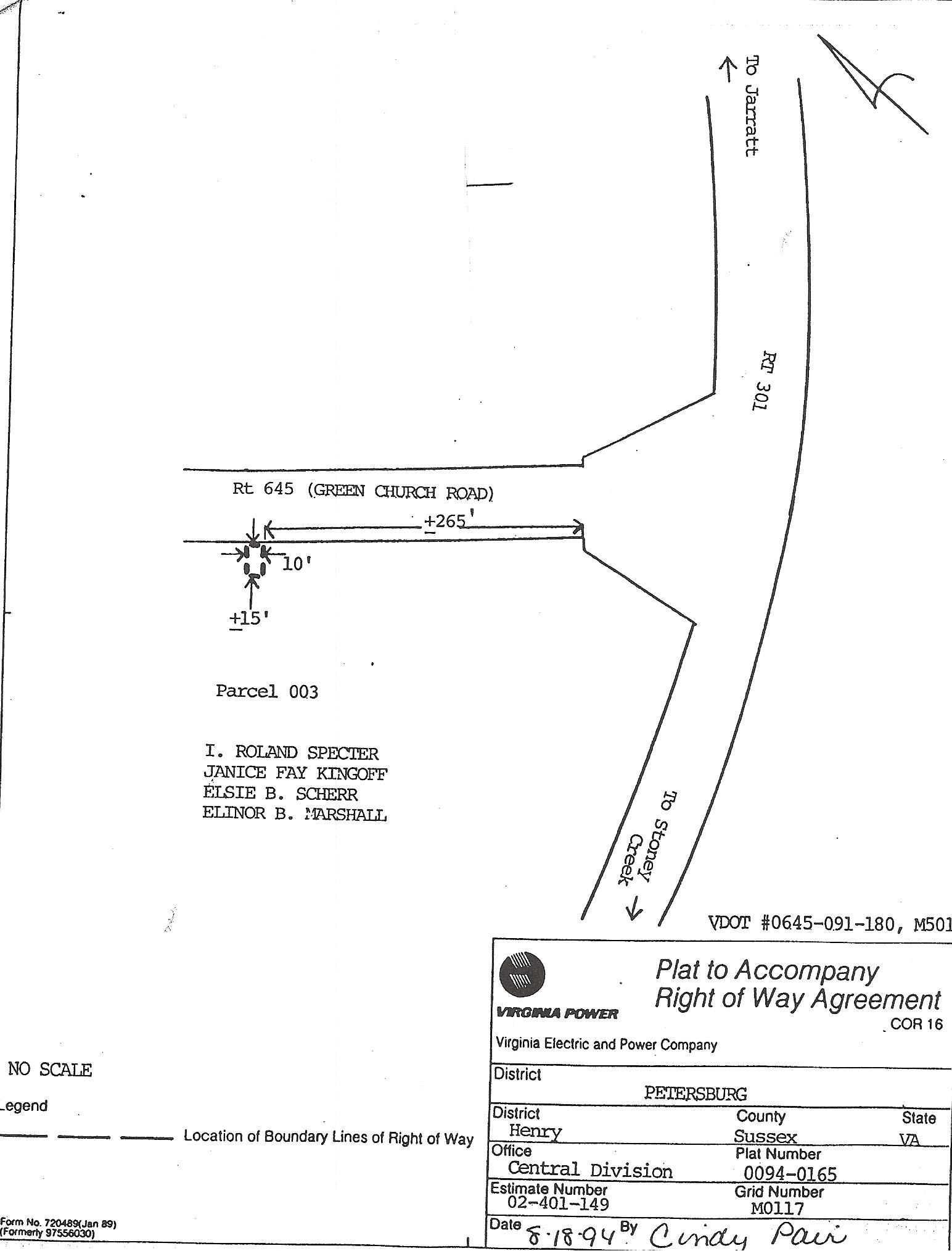 Exit 24 Specter Properties
